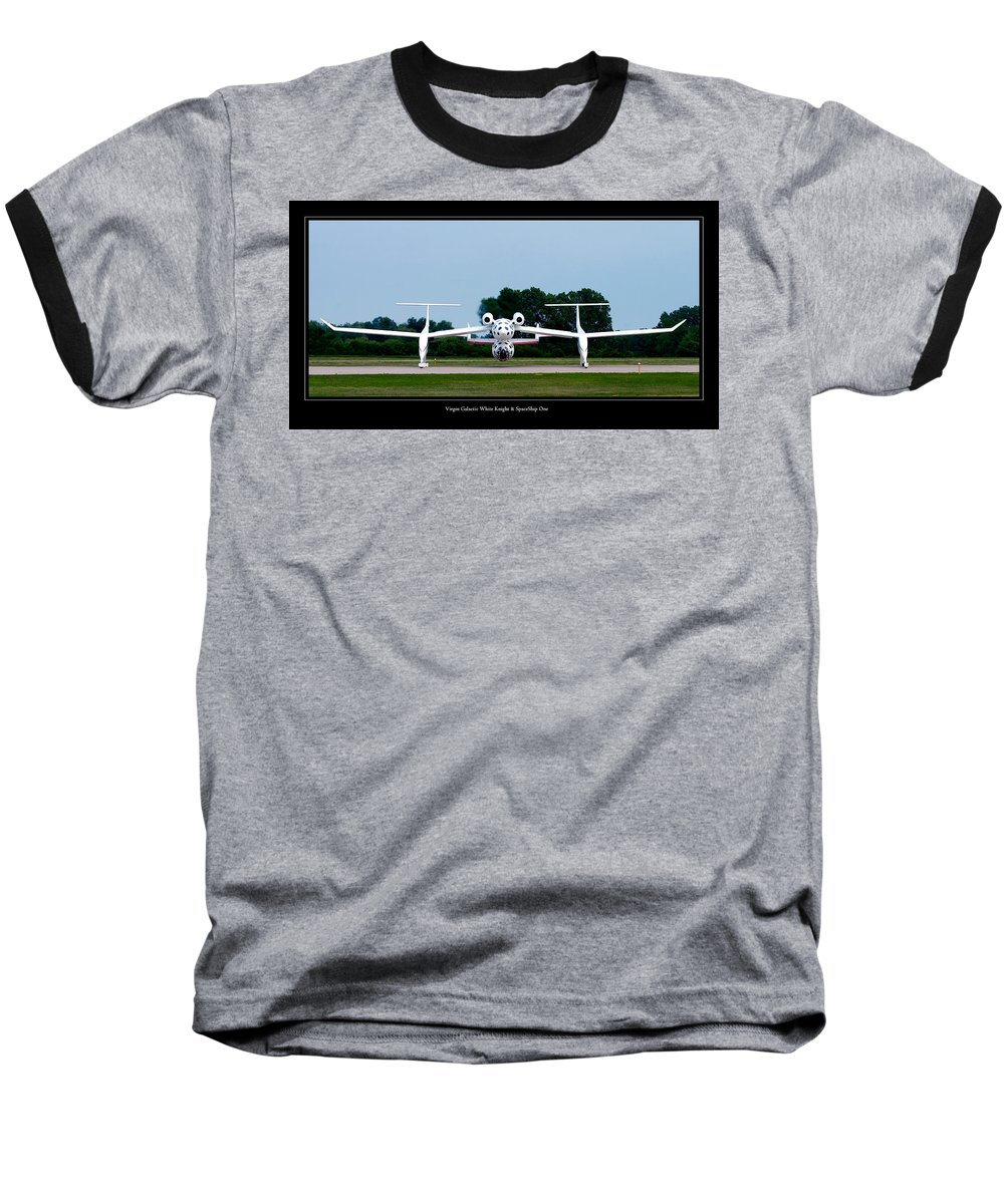 3scape Photos Baseball T-Shirt featuring the photograph White Knight by Adam Romanowicz
