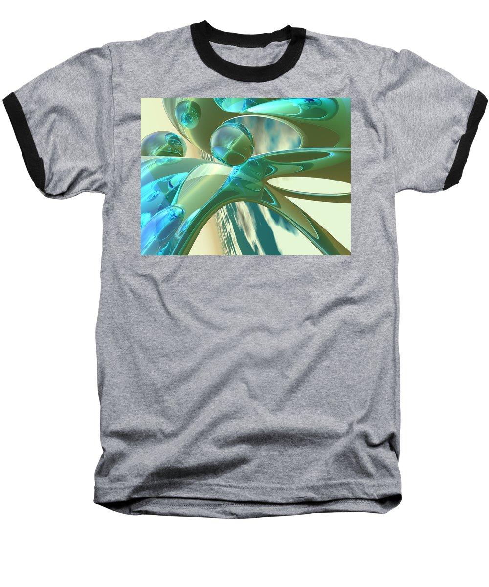 Scott Piers Baseball T-Shirt featuring the painting Ashton by Scott Piers