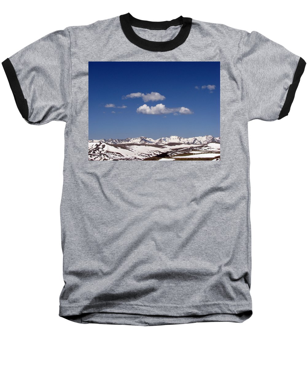 Mountains Baseball T-Shirt featuring the photograph Colorado by Amanda Barcon