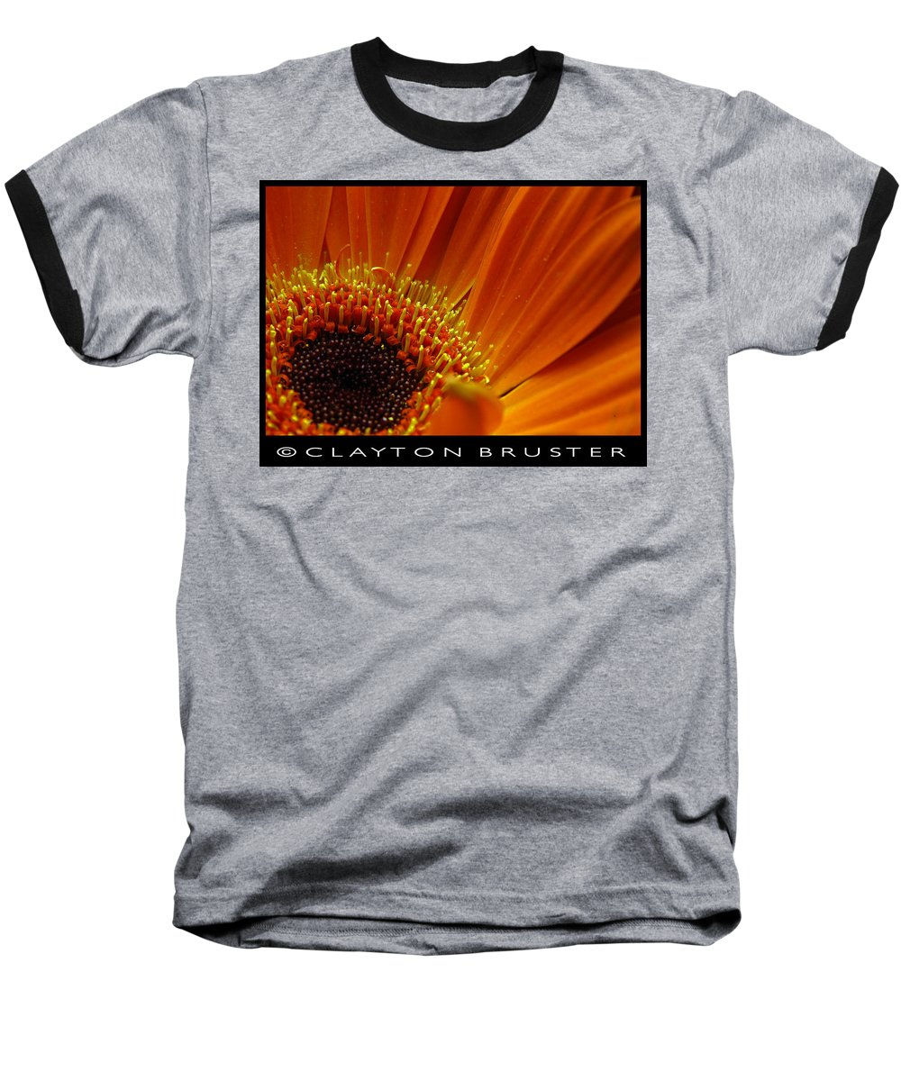 Clay Baseball T-Shirt featuring the photograph Floral by Clayton Bruster