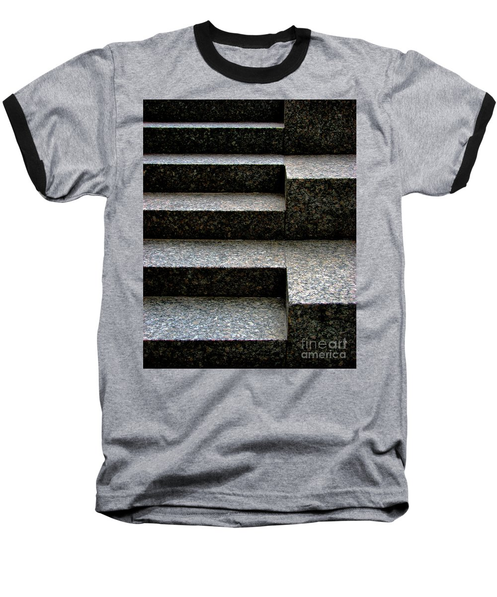 Architectural Baseball T-Shirt featuring the photograph Gradation by Dana DiPasquale
