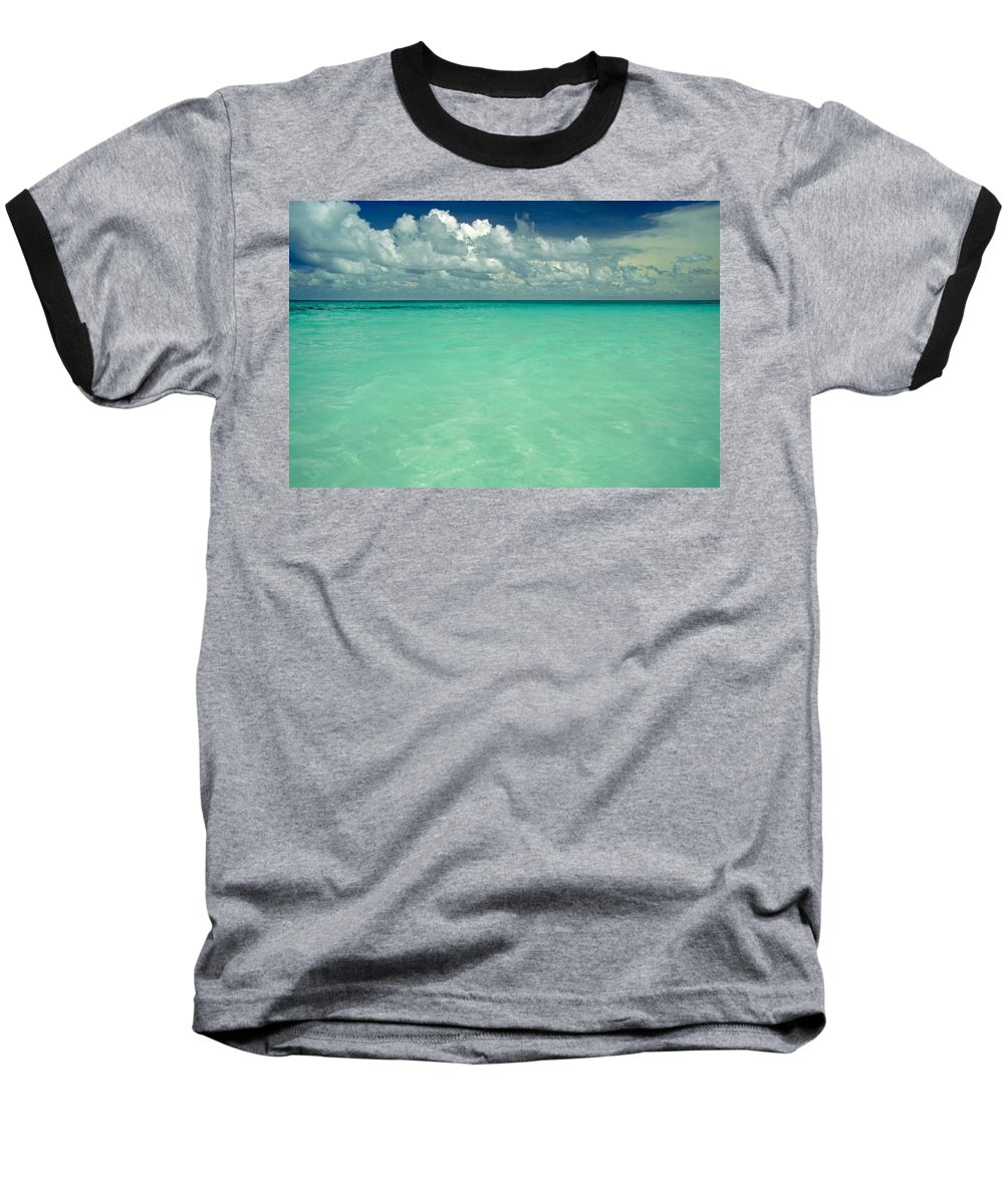 Belize Baseball T-Shirt featuring the photograph Heaven by Skip Hunt