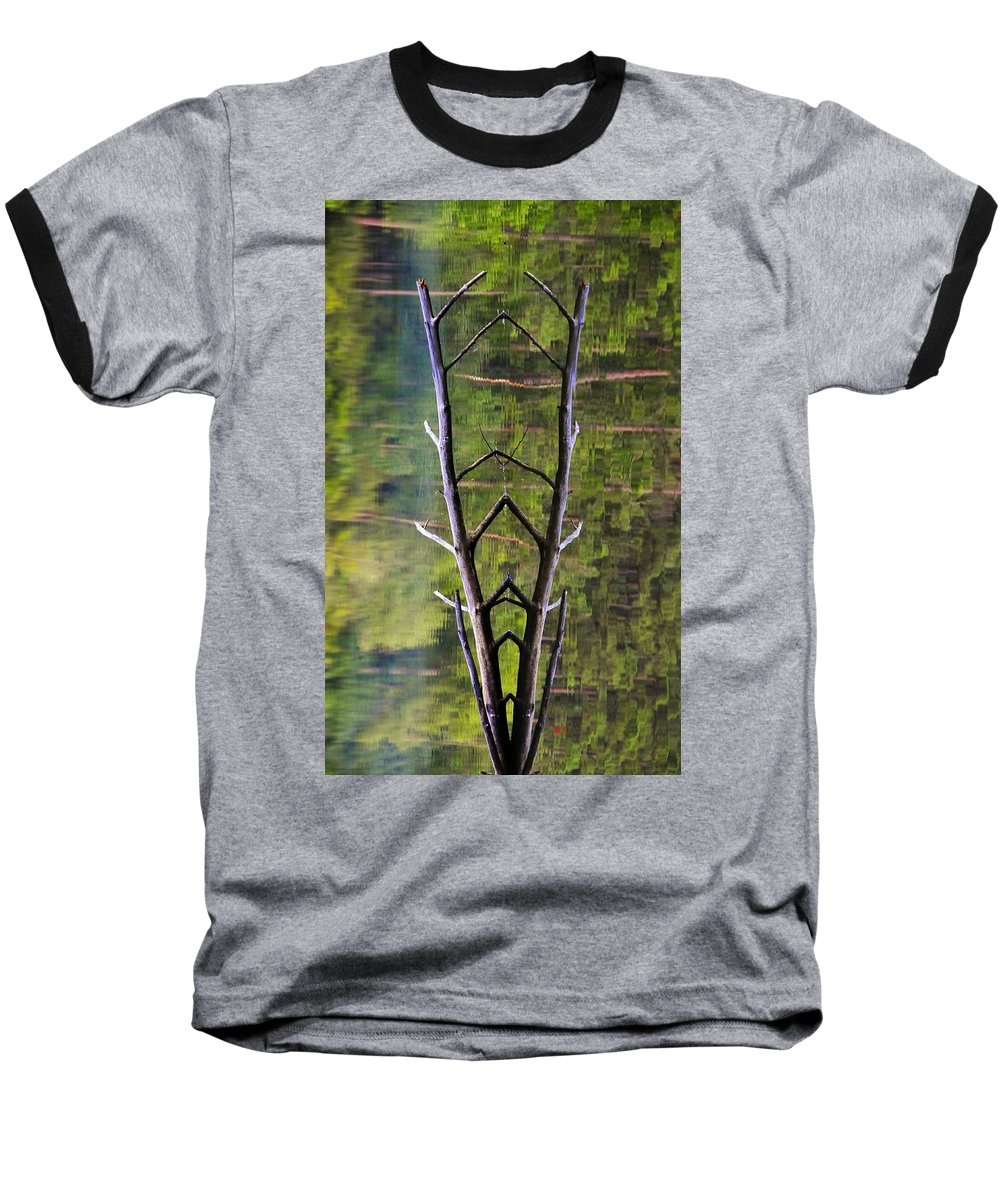 Photography Baseball T-Shirt featuring the photograph Jacob's Ladder by Skip Hunt