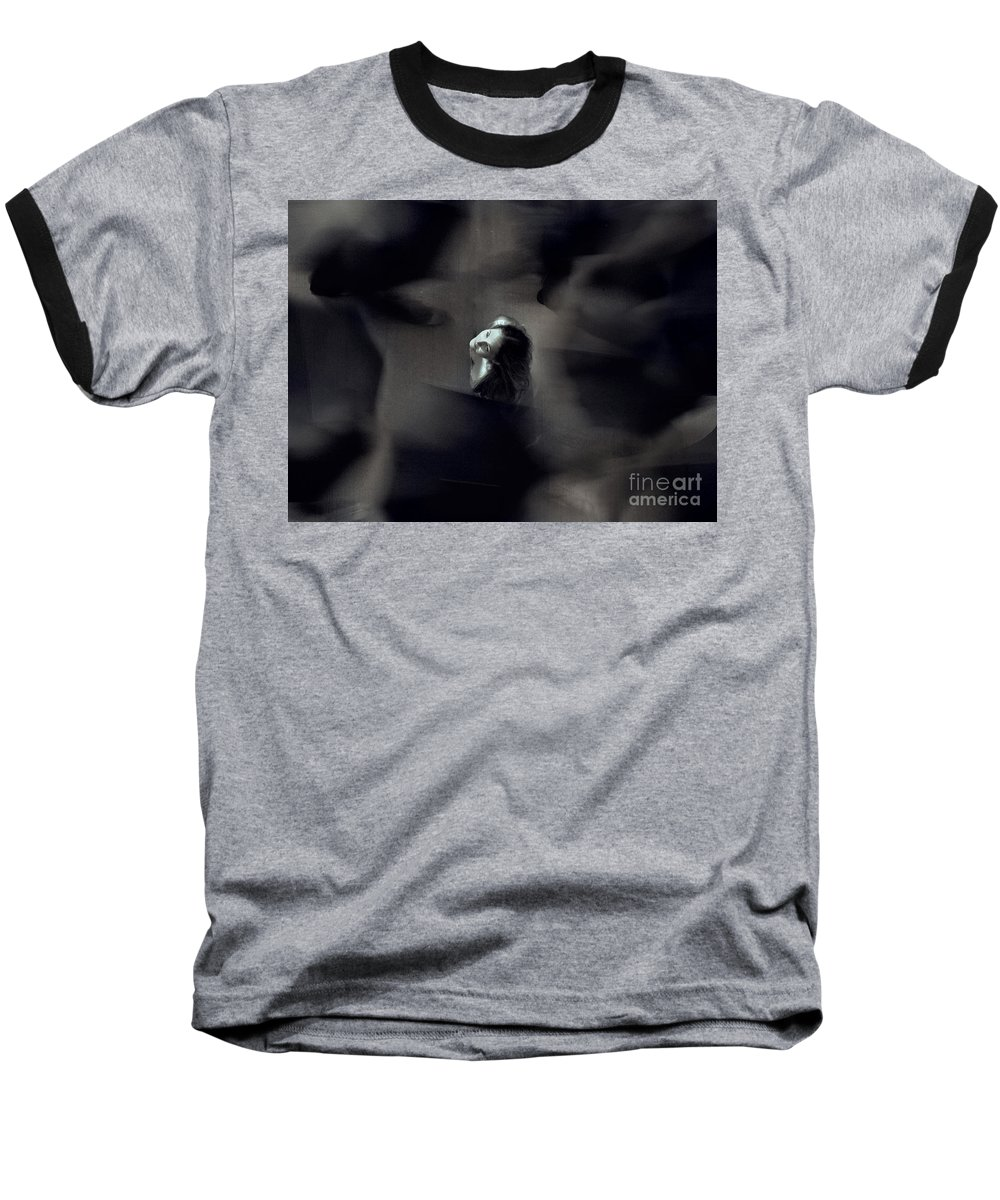 Street Baseball T-Shirt featuring the photograph Just For Today I Will Not Be Afraid by Dana DiPasquale