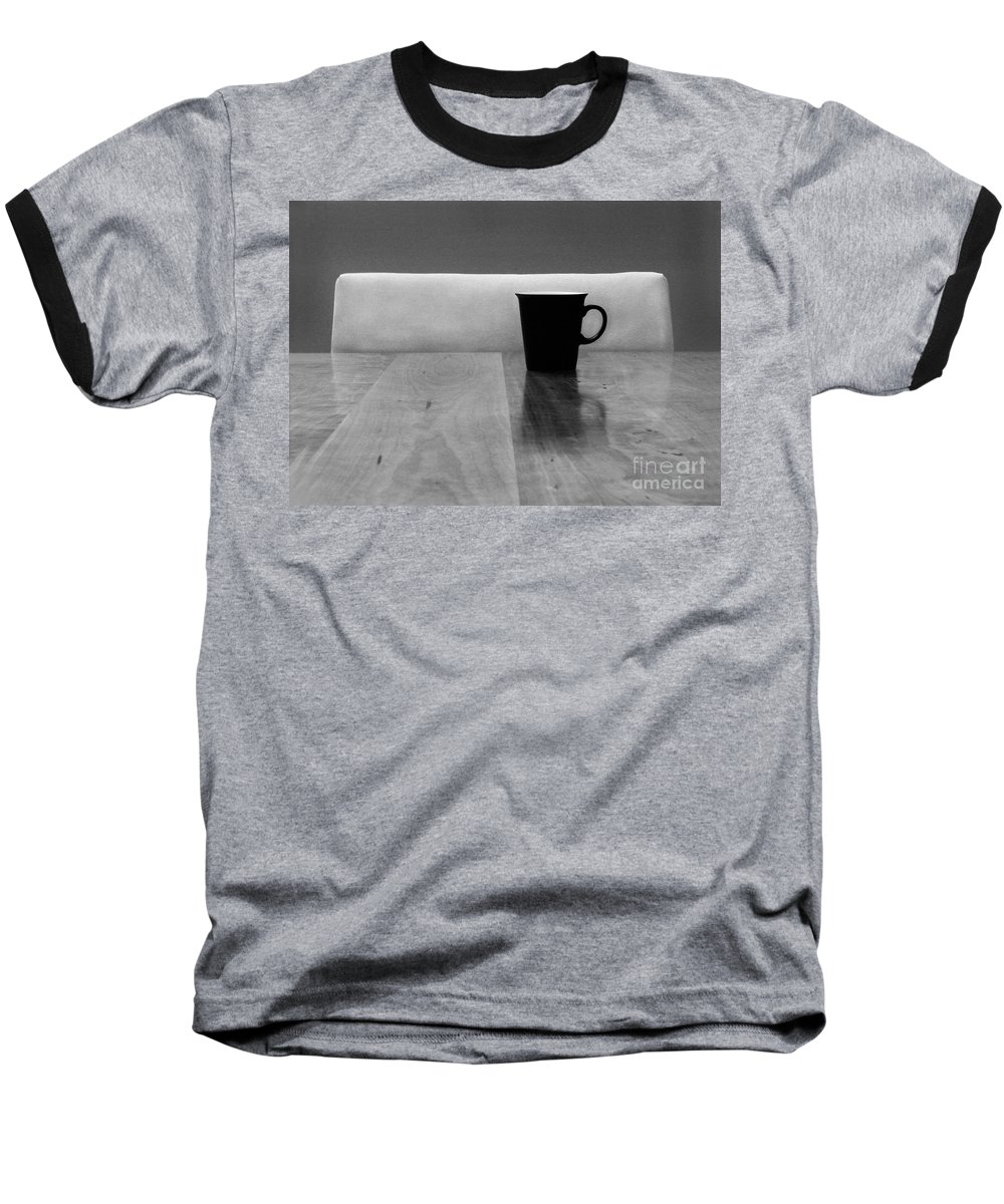 Black Baseball T-Shirt featuring the photograph Missing by Dana DiPasquale