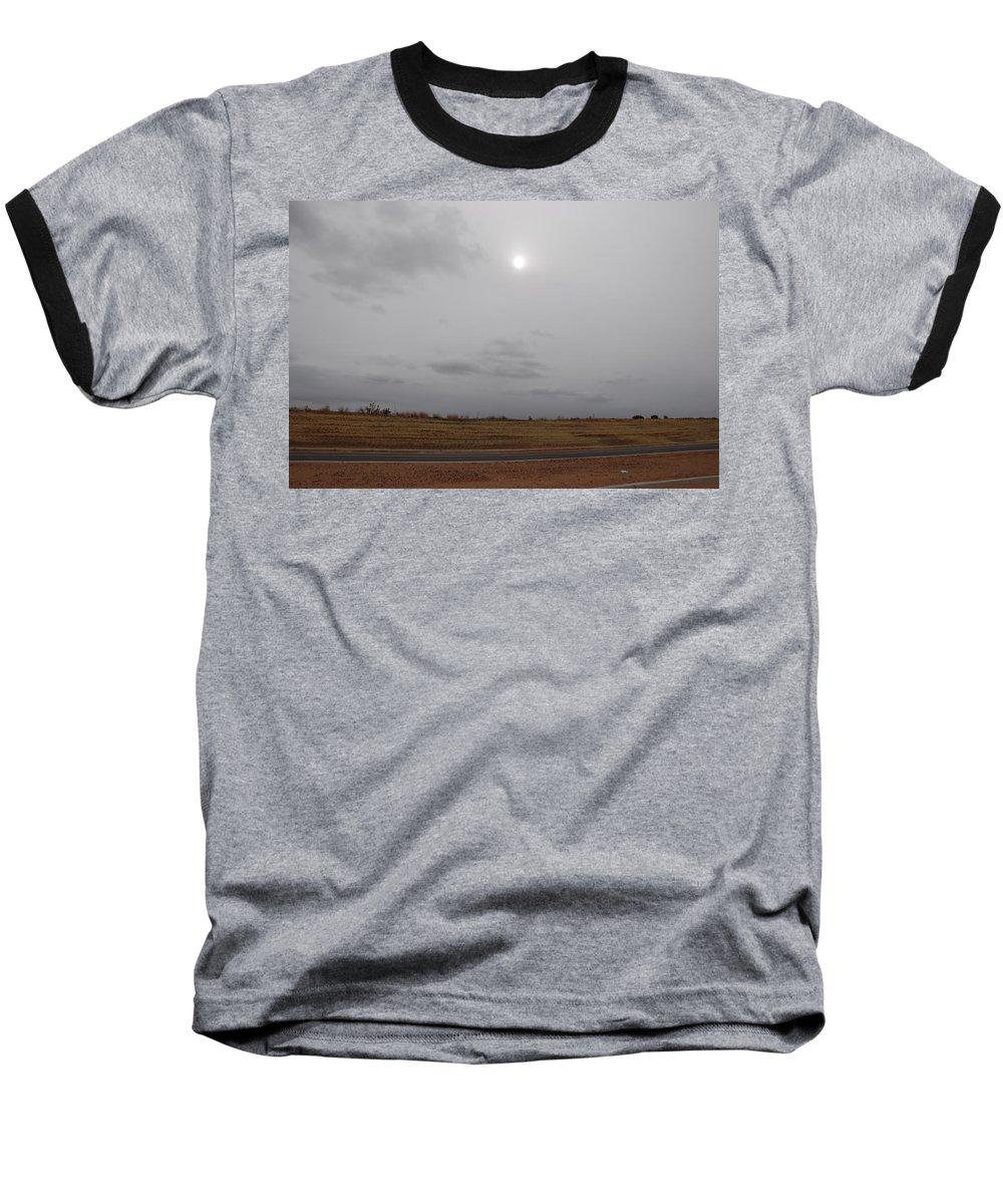 Desert Baseball T-Shirt featuring the photograph Sunset In The Desert by Rob Hans