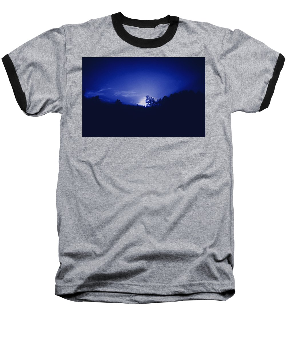 Sky Baseball T-Shirt featuring the photograph Where The Smurfs Live 2 by Max Mullins
