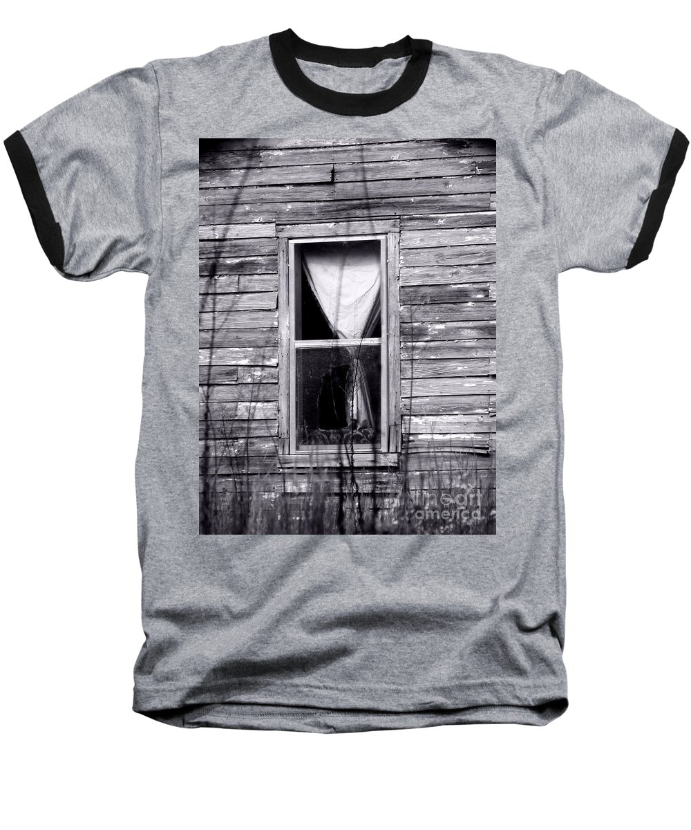Windows Baseball T-Shirt featuring the photograph Window by Amanda Barcon