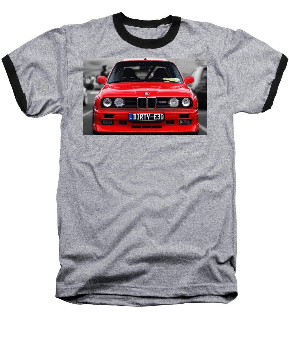 Bmw M3 Baseball T-Shirt featuring the photograph Bmw M3 by Jackie Russo