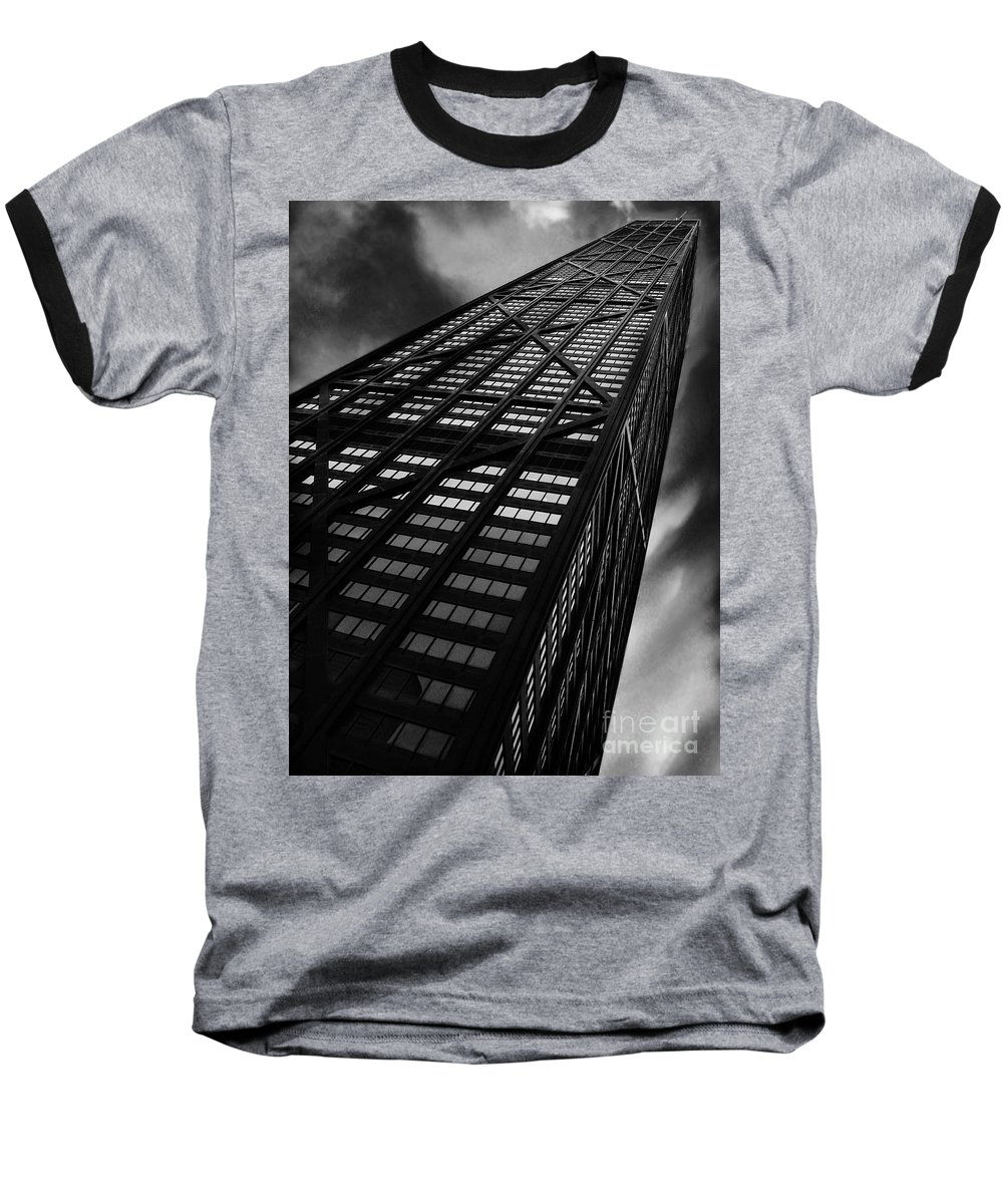 City Baseball T-Shirt featuring the photograph Limitless by Dana DiPasquale