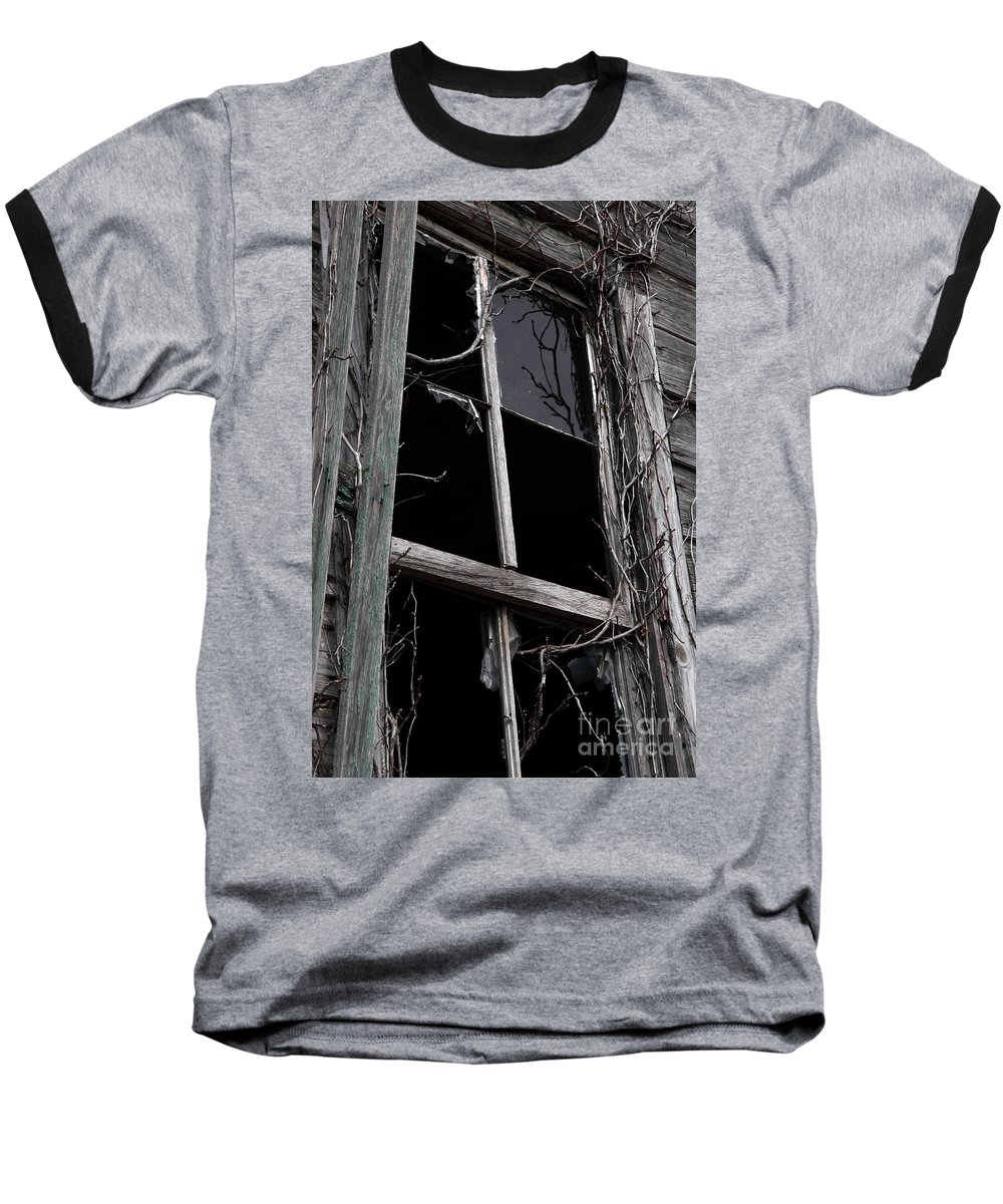 Windows Baseball T-Shirt featuring the photograph Window by Amanda Barcon