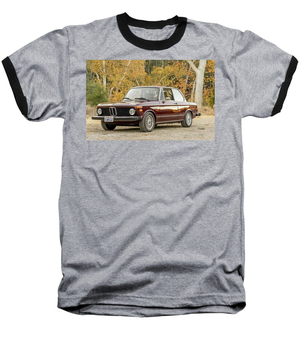 Bmw 2 Series Baseball T-Shirt featuring the photograph Bmw 2 Series by Jackie Russo