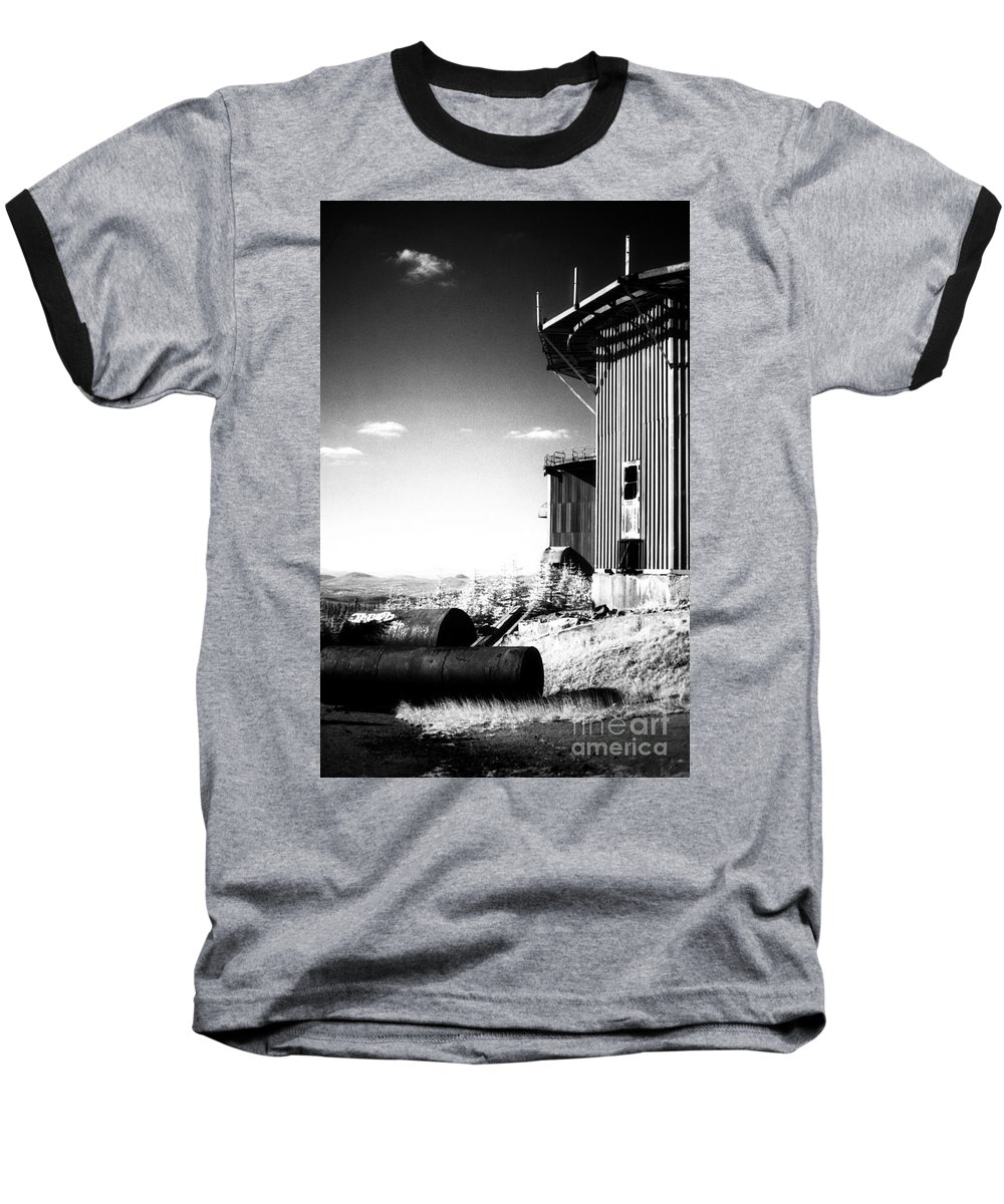 Abandoned Baseball T-Shirt featuring the photograph Abandoned Radar by Richard Rizzo