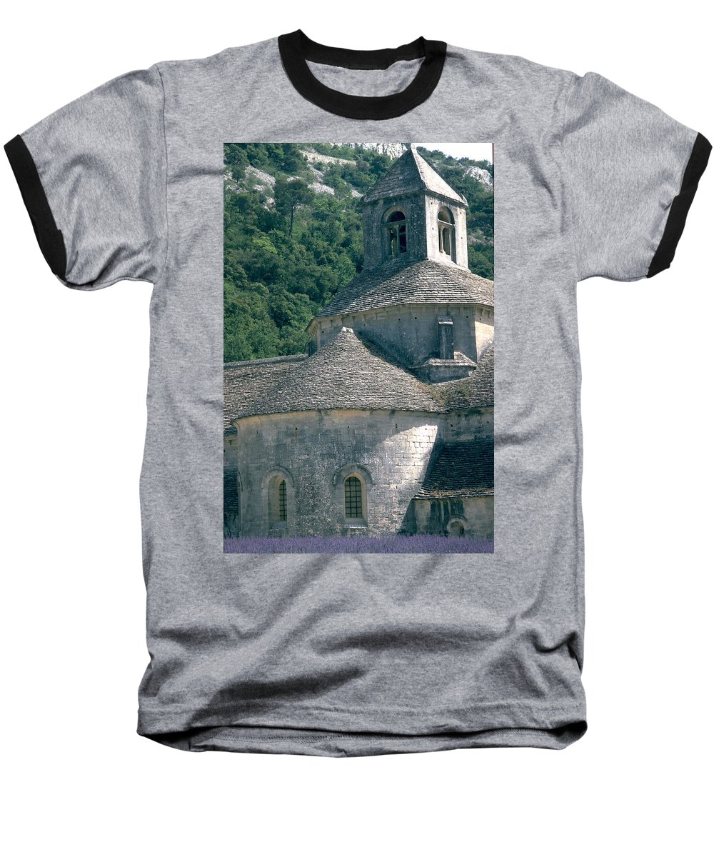 Abbeye De Senanque Baseball T-Shirt featuring the photograph Abbeye De Senanque by Flavia Westerwelle
