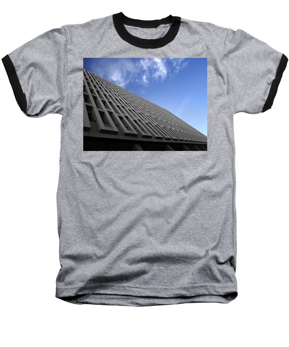 Building Baseball T-Shirt featuring the photograph ABC by Kelly Jade King