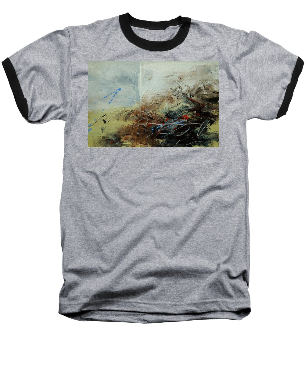 Abstract Baseball T-Shirt featuring the print Abstract 070408 by Pol Ledent