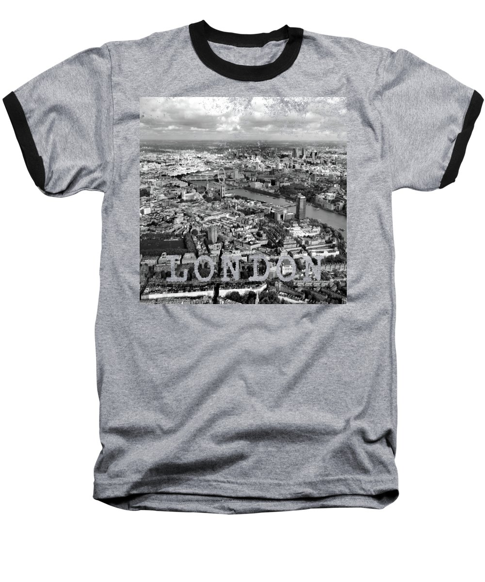 London Skyline Baseball T-Shirts