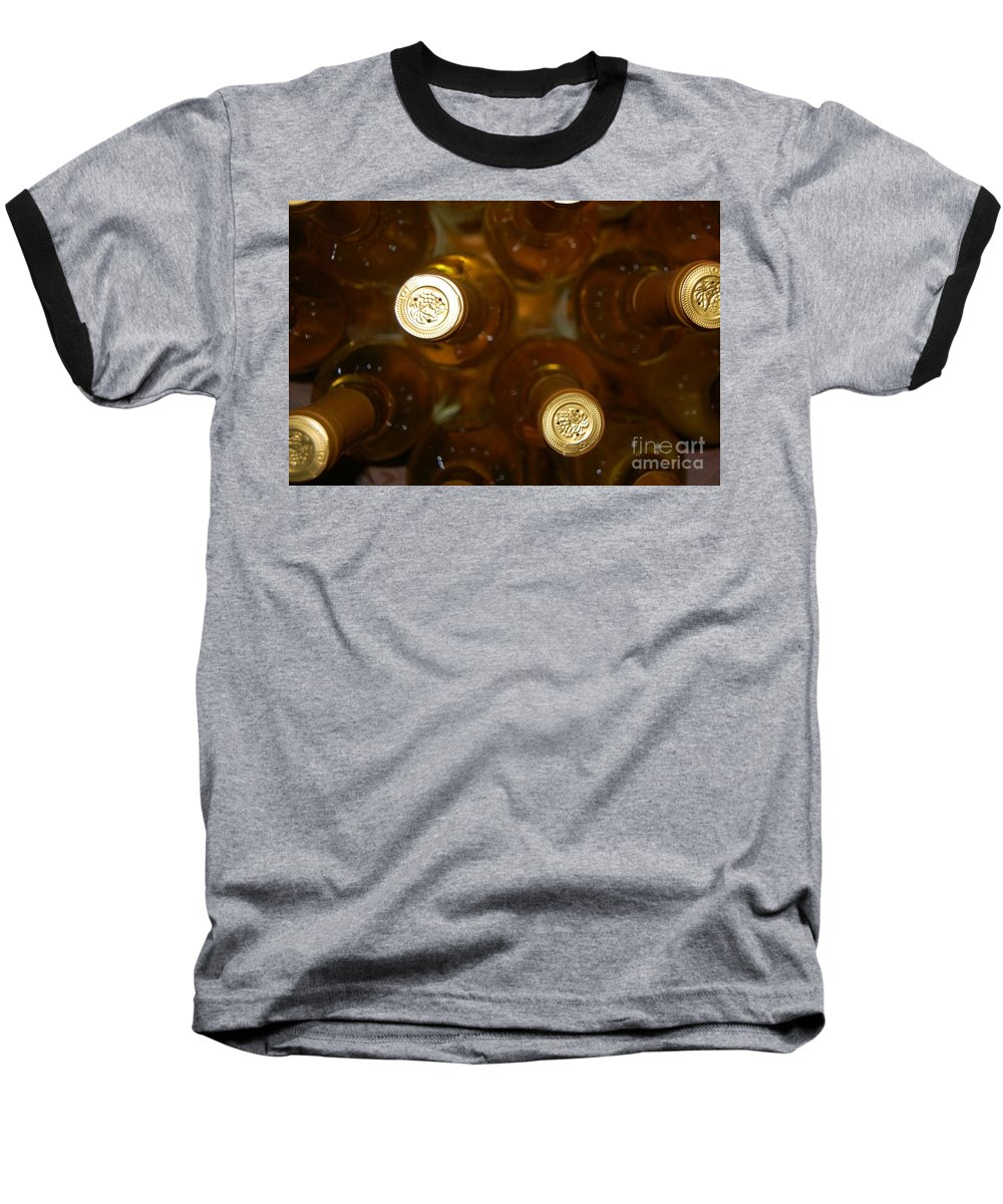 Wine Baseball T-Shirt featuring the photograph Aged Well by Debbi Granruth