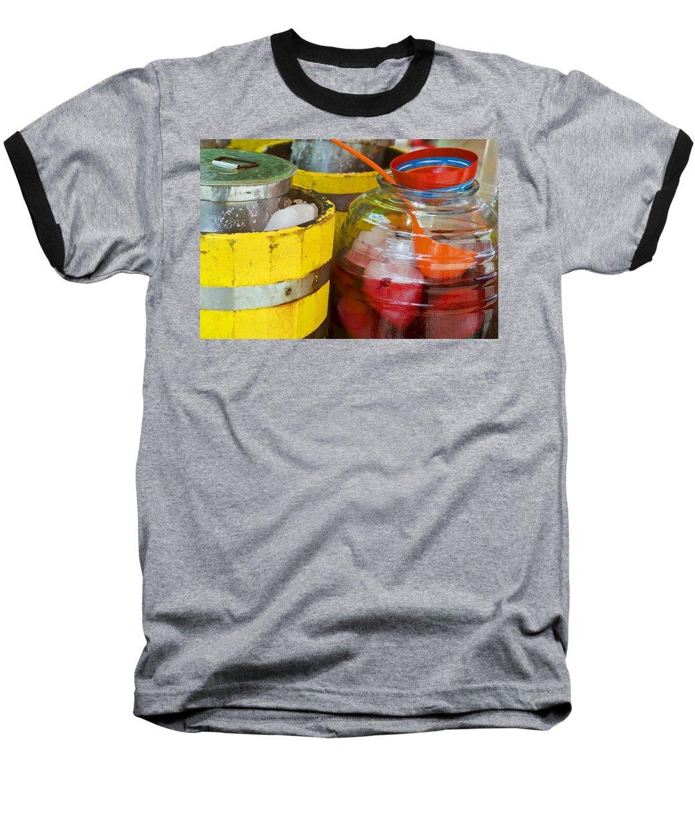 Beverage Baseball T-Shirt featuring the photograph Agua De Hamaica by Skip Hunt