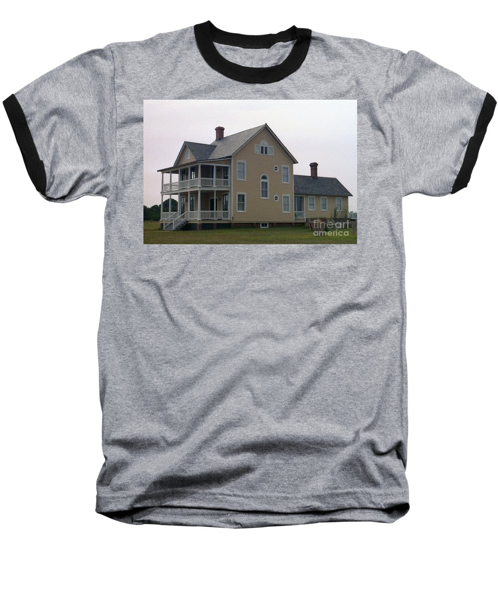 Alabama Baseball T-Shirt featuring the digital art Alabama Coastal Home by Richard Rizzo