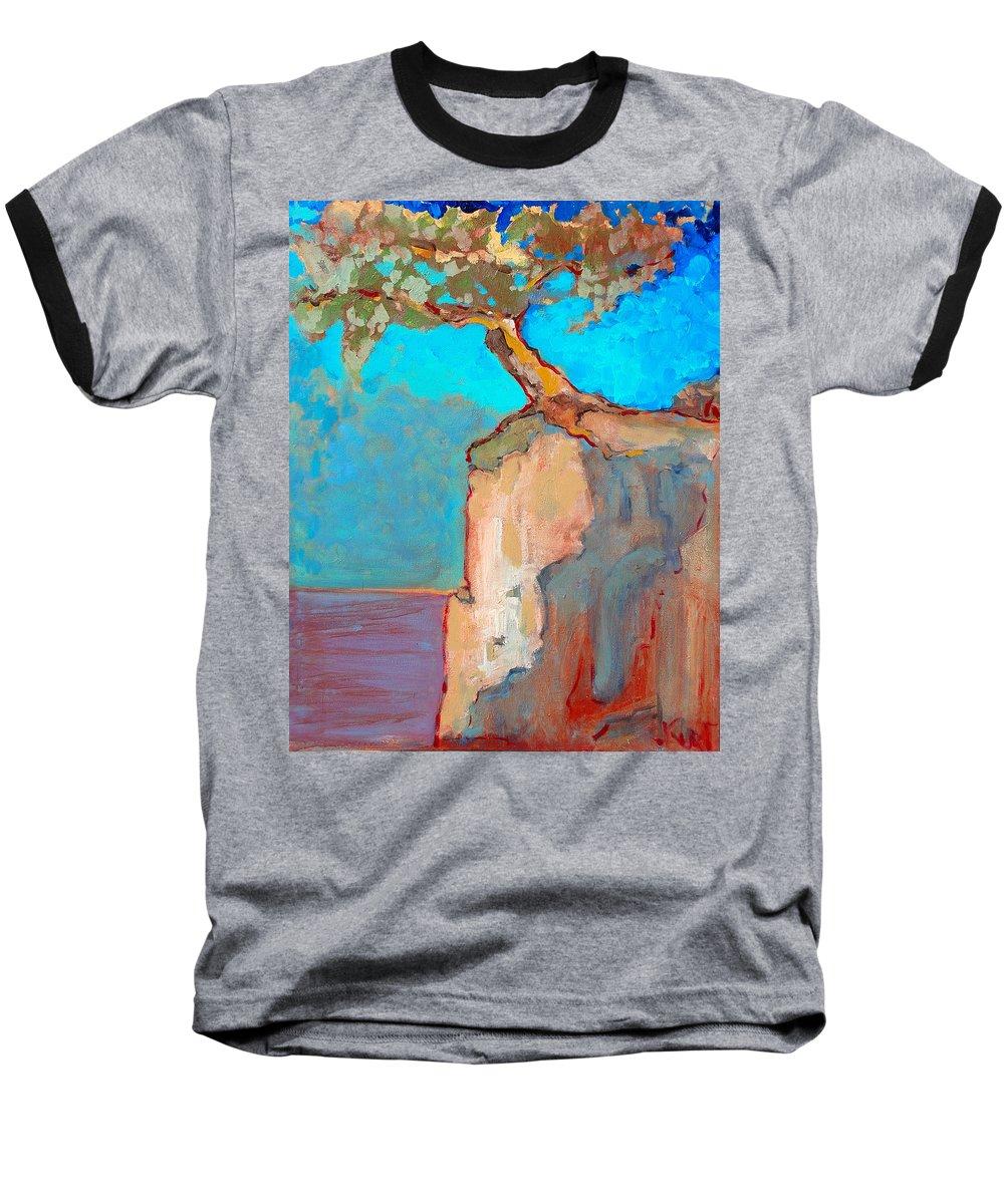 Tree Baseball T-Shirt featuring the painting Albero by Kurt Hausmann