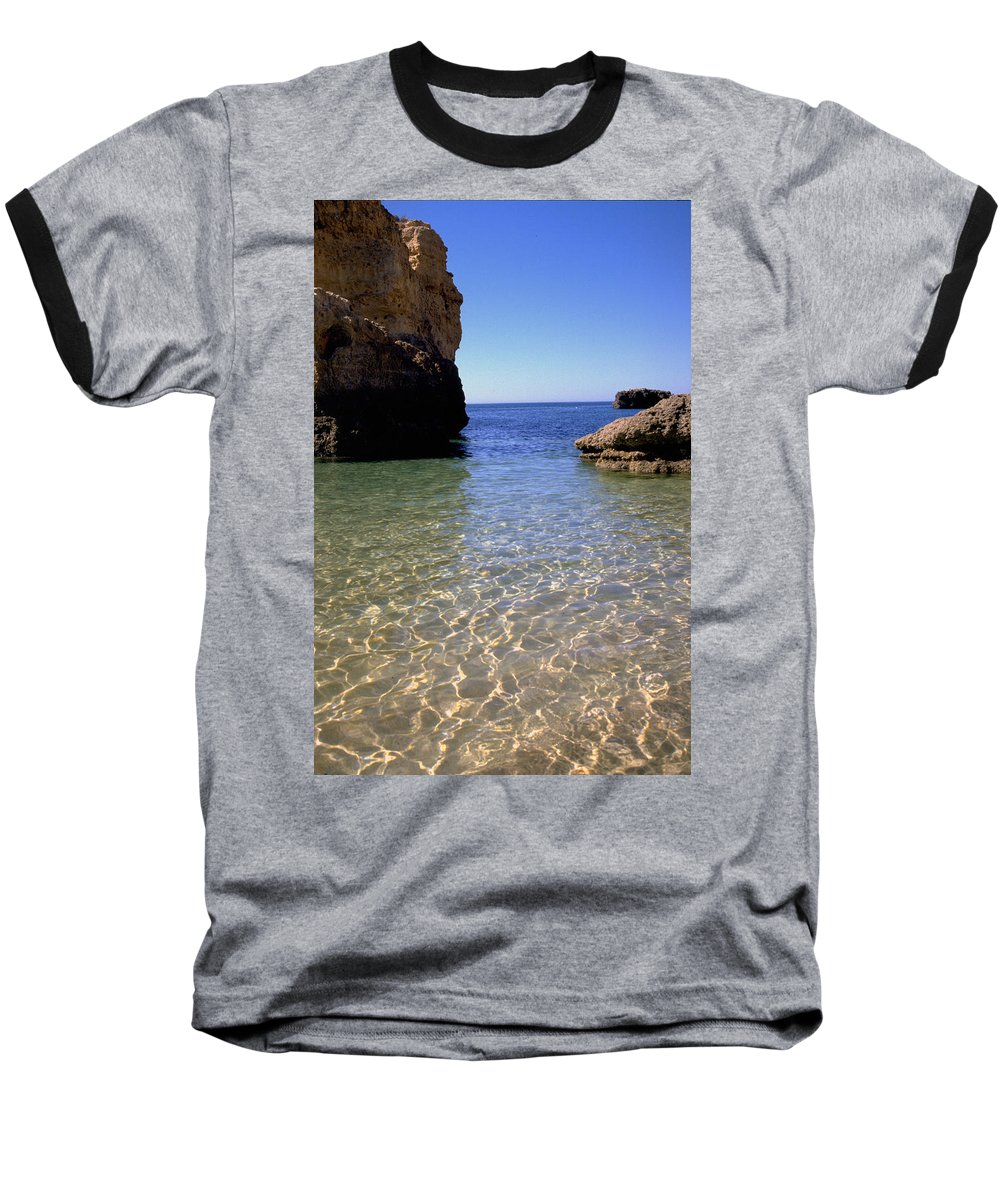 Algarve Baseball T-Shirt featuring the photograph Algarve I by Flavia Westerwelle