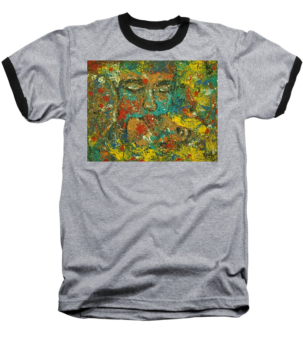 Romantic Baseball T-Shirt featuring the painting Allure Of Love by Natalie Holland