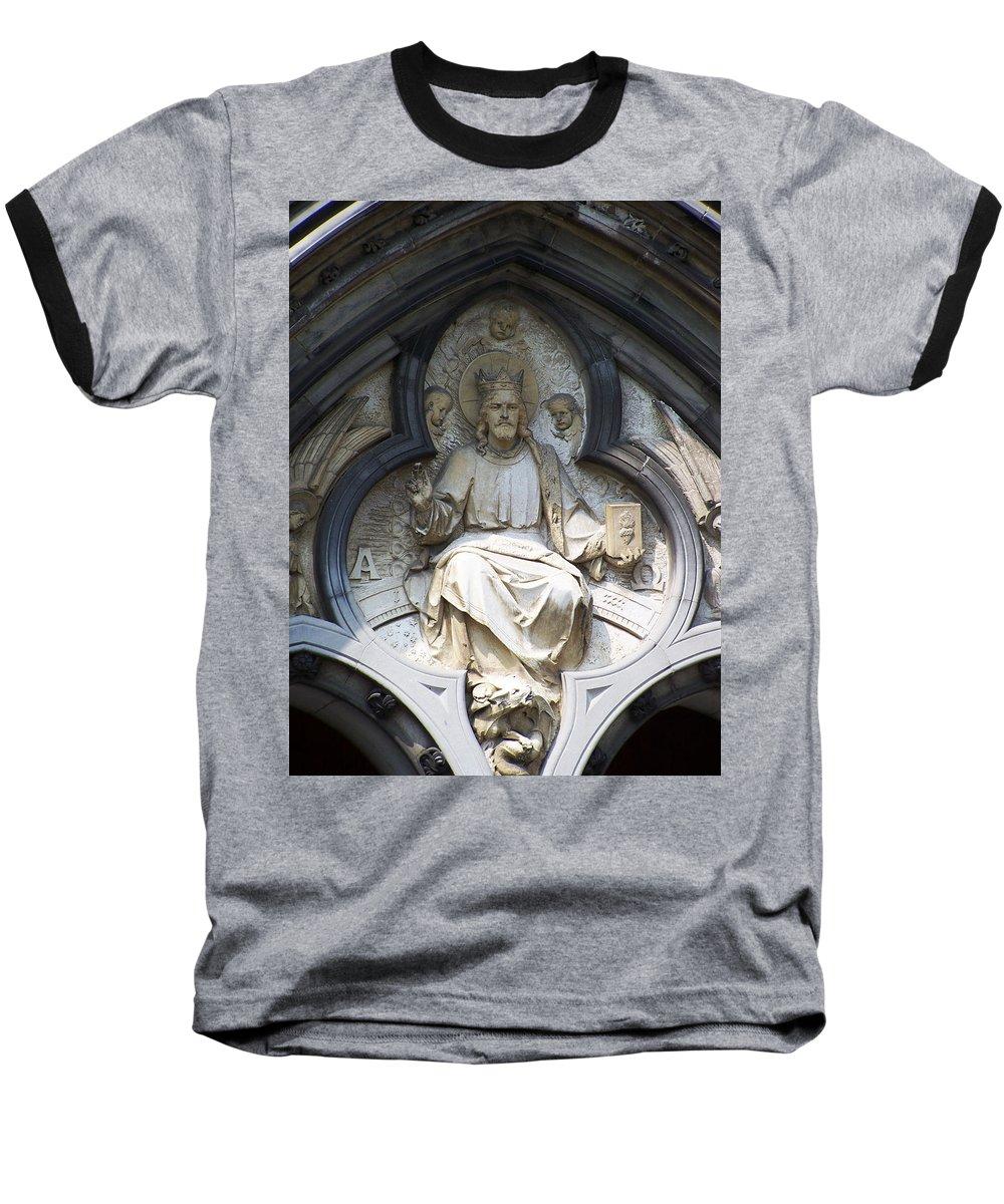 Ireland Baseball T-Shirt featuring the photograph Alpha And Omega by Teresa Mucha
