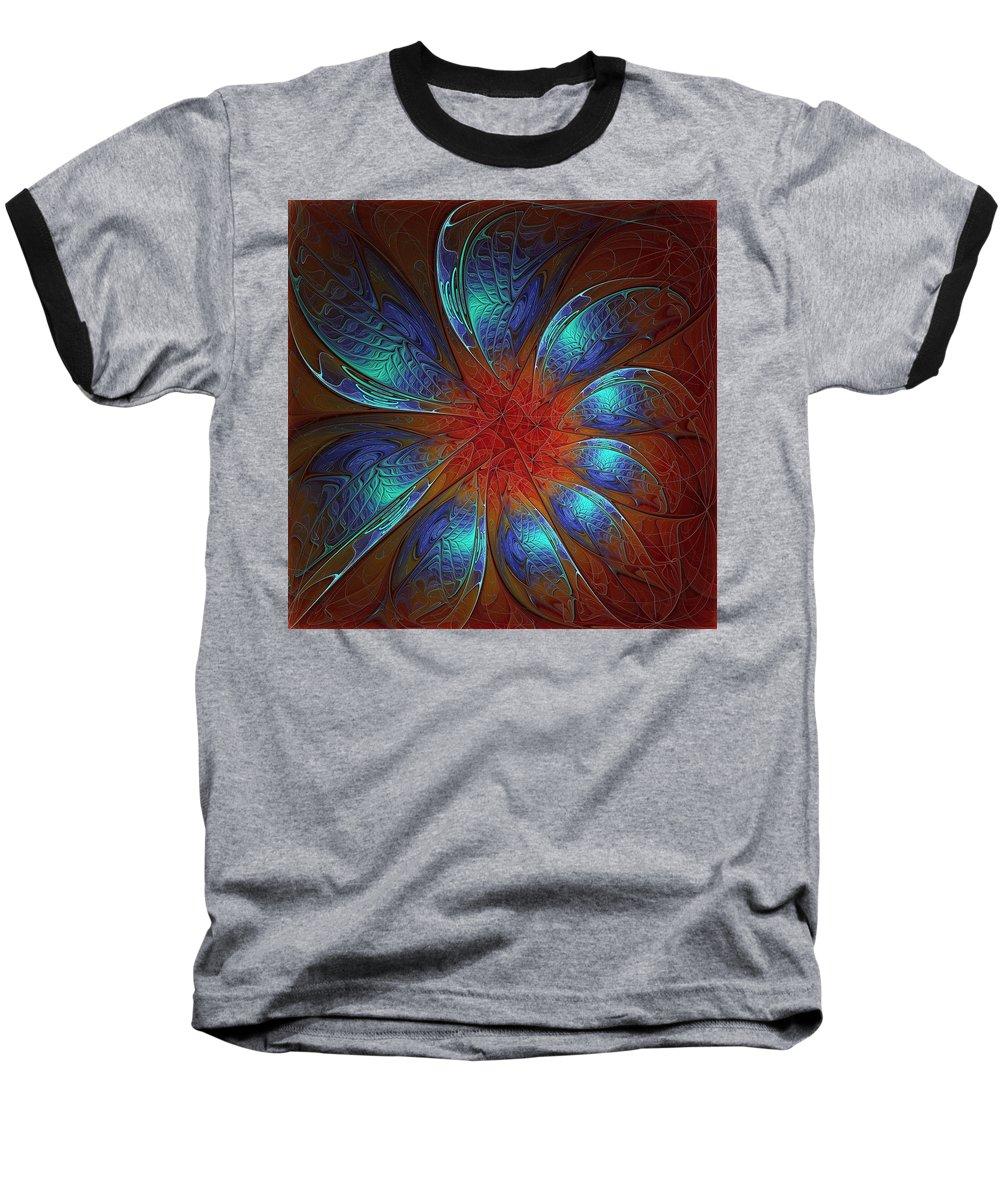 Digital Art Baseball T-Shirt featuring the digital art Always And Forever by Amanda Moore