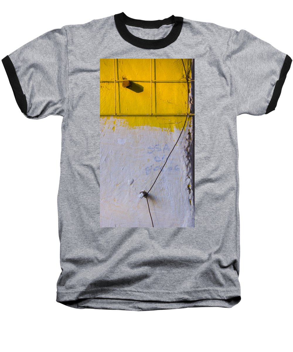 Abstract Baseball T-Shirt featuring the photograph Amarillo by Skip Hunt