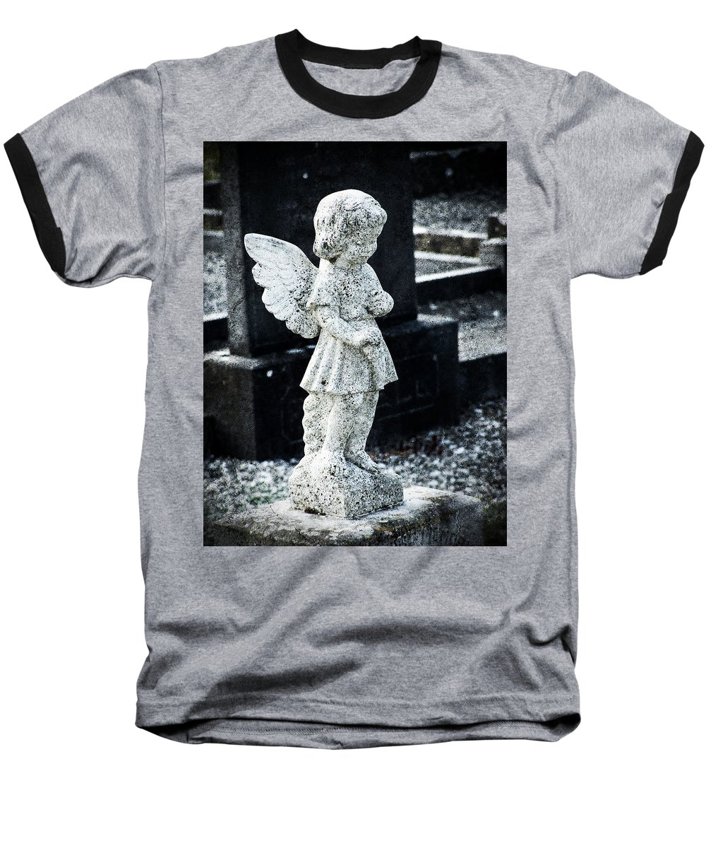 Ireland Baseball T-Shirt featuring the photograph Angel In Roscommon No 3 by Teresa Mucha