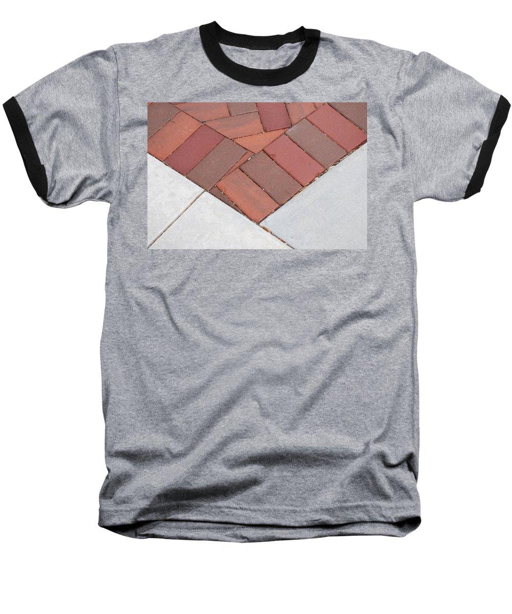 Bricks Baseball T-Shirt featuring the photograph Angles by Rob Hans