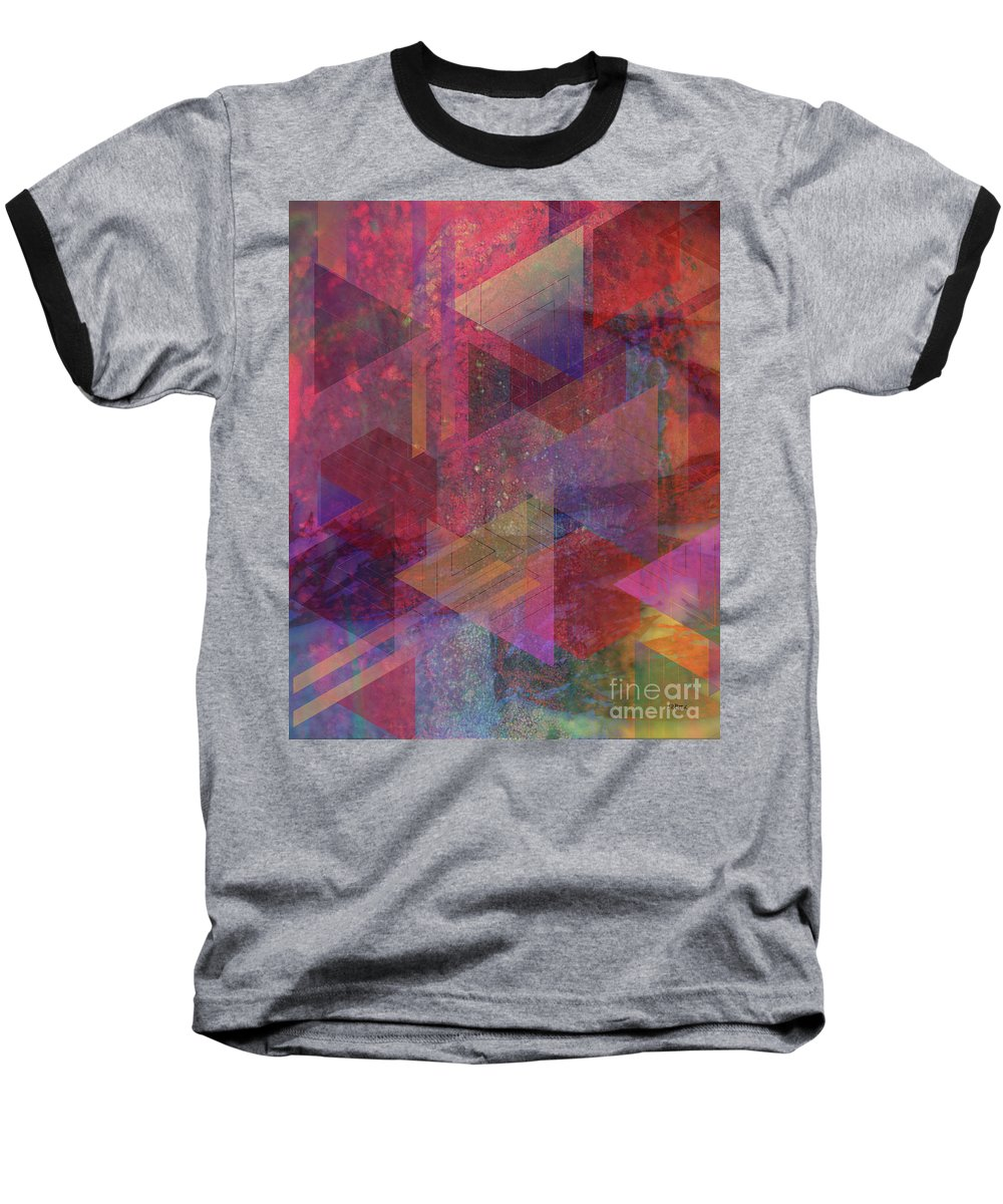 Another Place Baseball T-Shirt featuring the digital art Another Place by John Beck