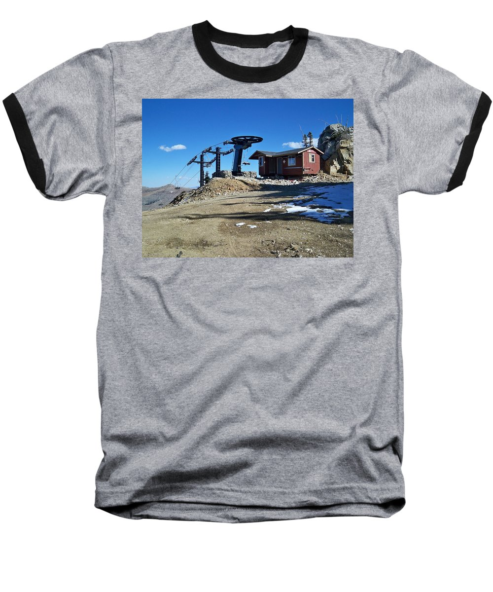 Landscape Baseball T-Shirt featuring the photograph Anticipation by Michael Cuozzo