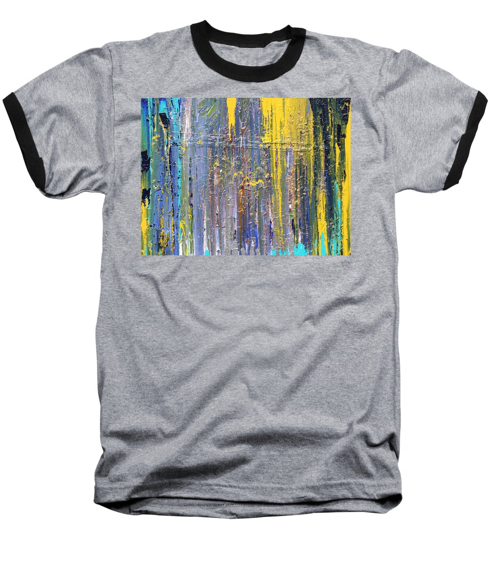 Fusionart Baseball T-Shirt featuring the painting Arachnid by Ralph White