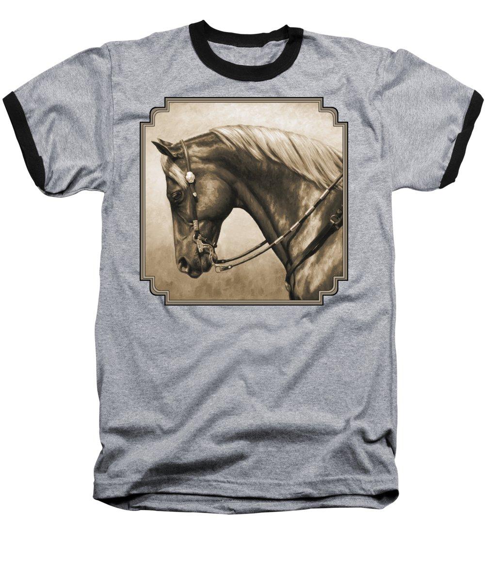 Horse Baseball T-Shirts