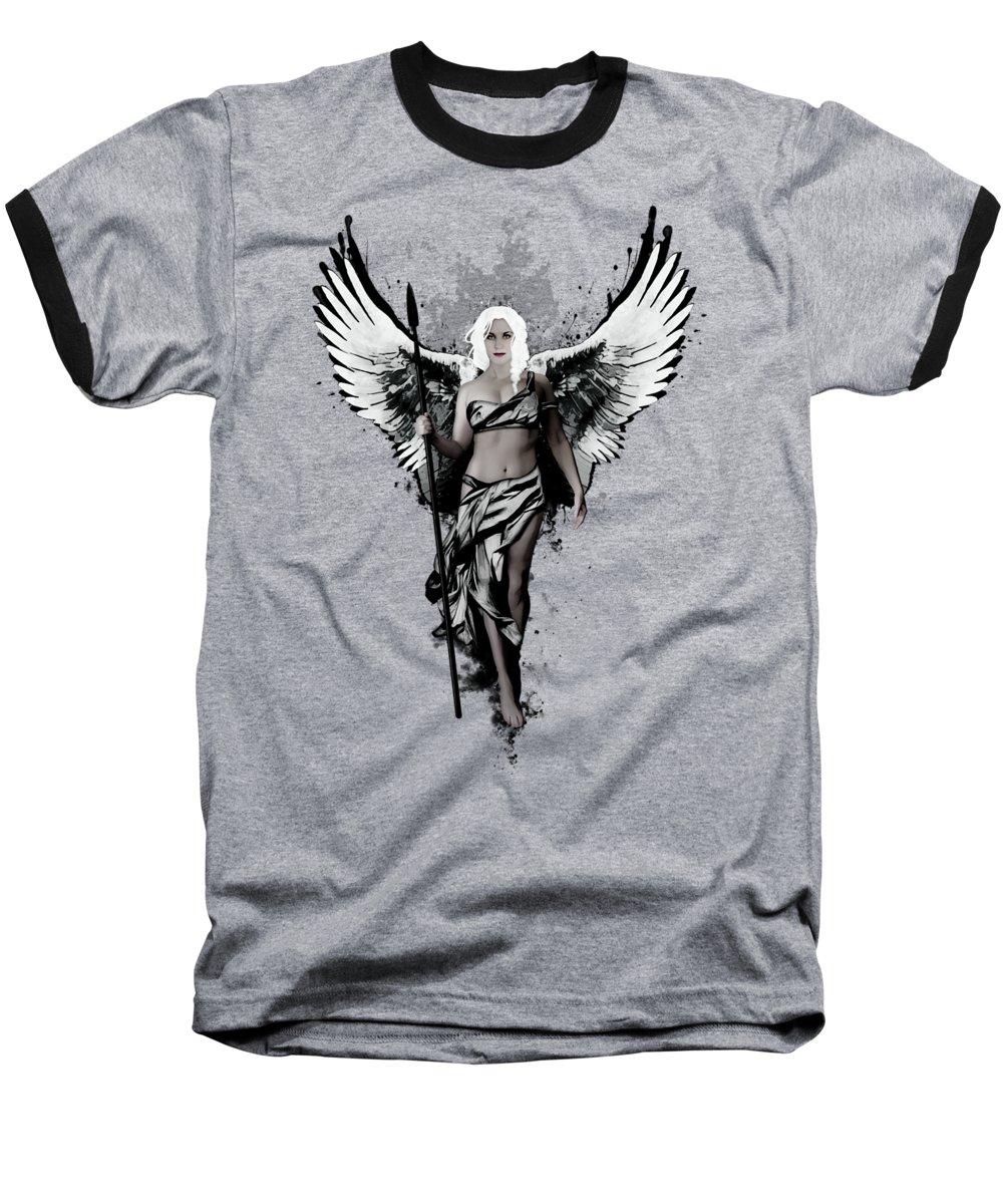 Swan Baseball T-Shirts