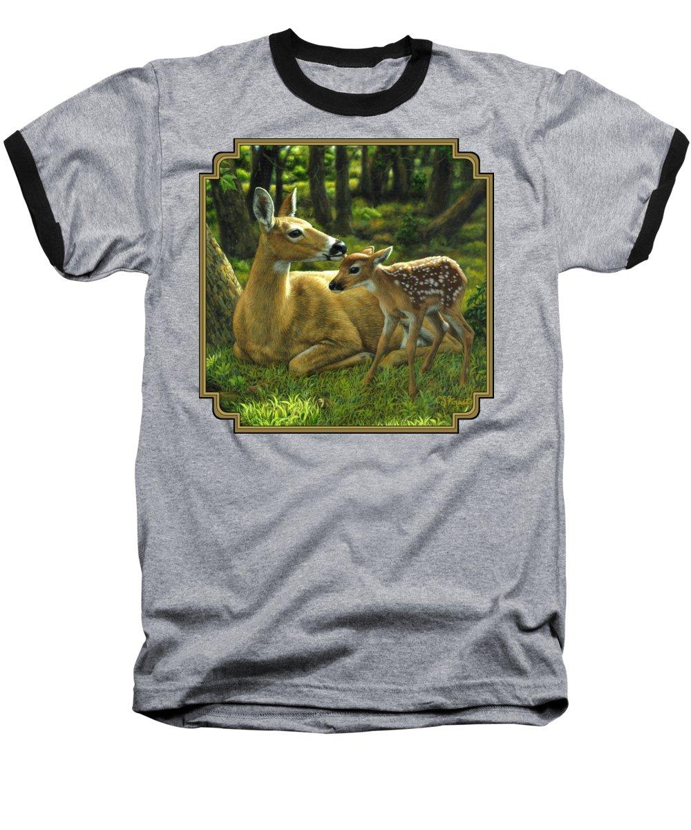 Deer Baseball T-Shirts