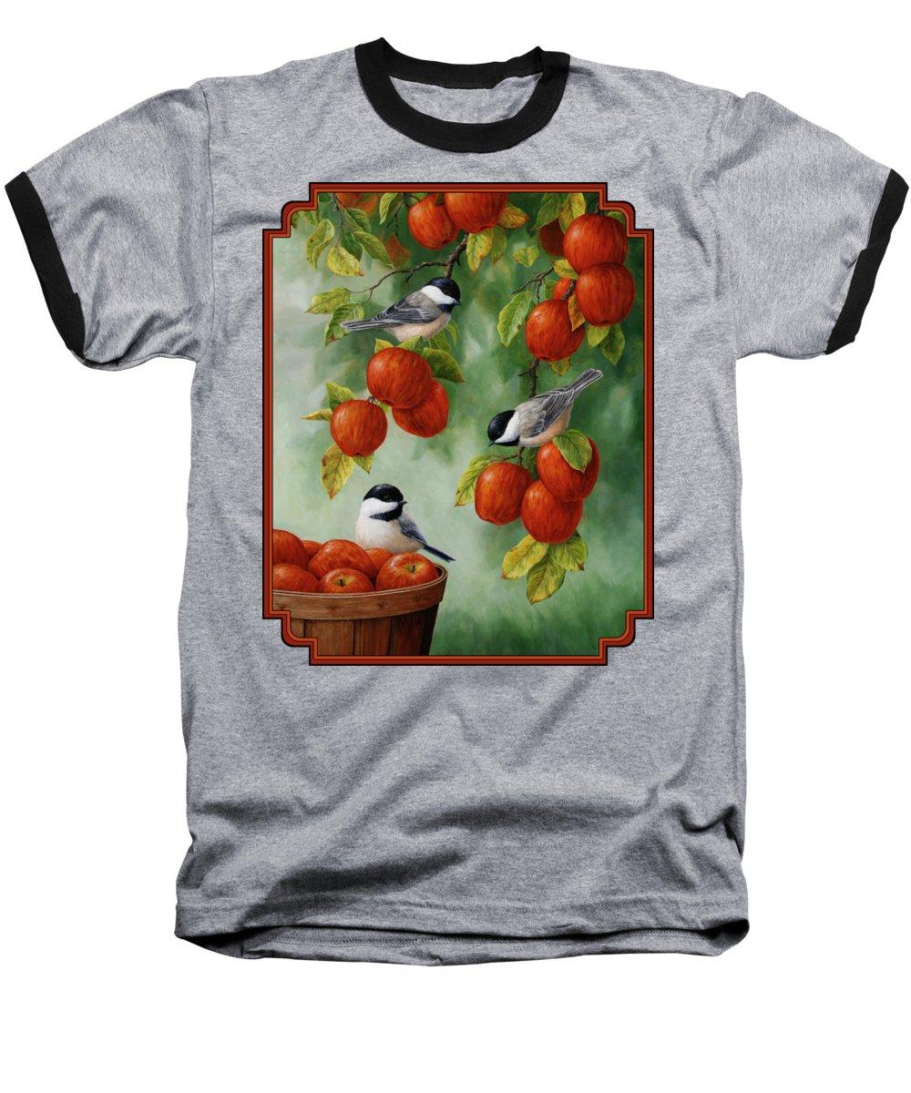 Apple Baseball T-Shirts
