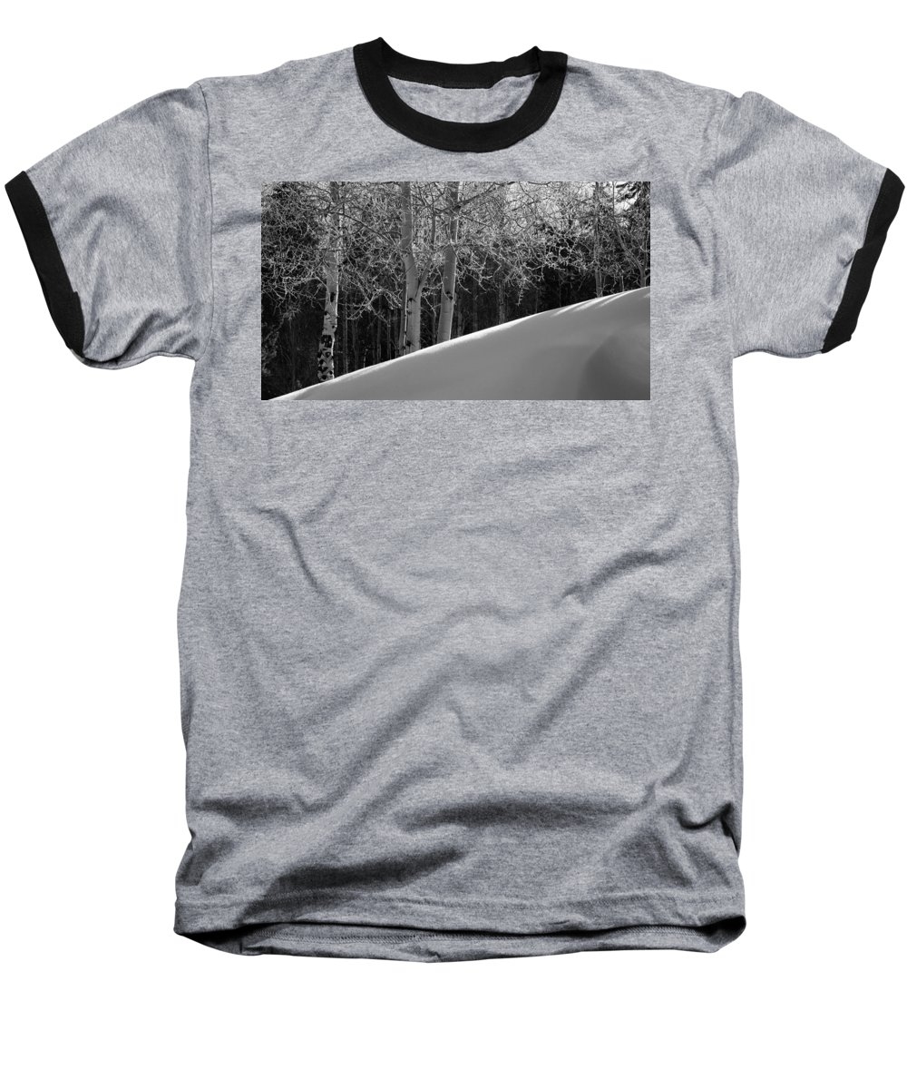 Colorado Baseball T-Shirt featuring the photograph Aspencade by Skip Hunt