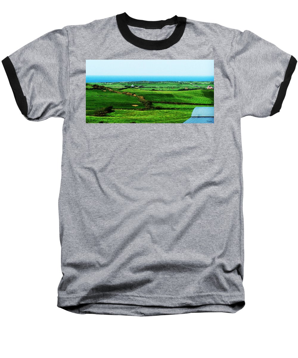 Ireland Baseball T-Shirt featuring the photograph Atlantic View Doolin Ireland by Teresa Mucha