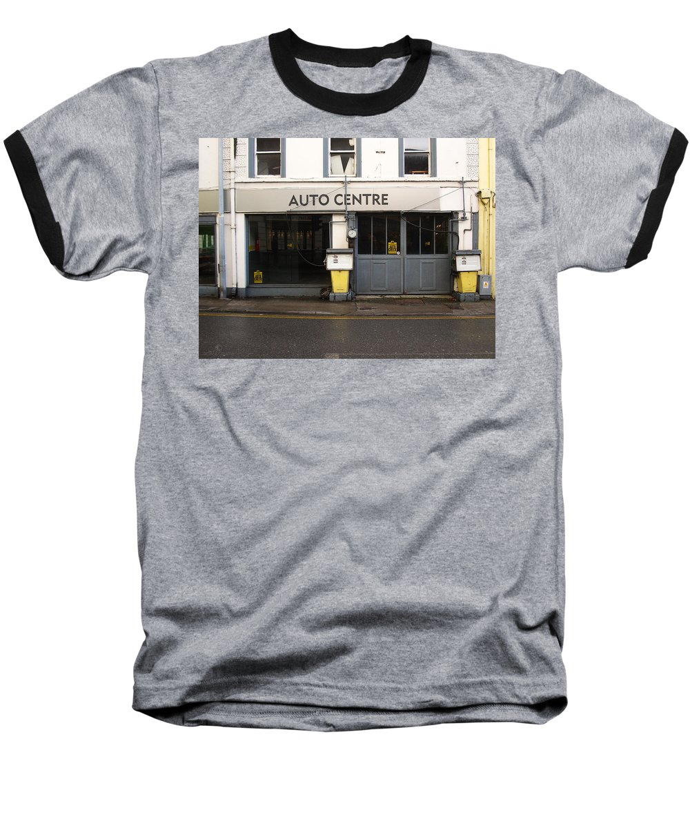 Auto Baseball T-Shirt featuring the photograph Auto Centre by Tim Nyberg