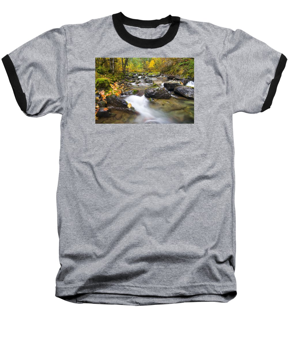 Fall Baseball T-Shirt featuring the photograph Autumn Passing by Mike Dawson