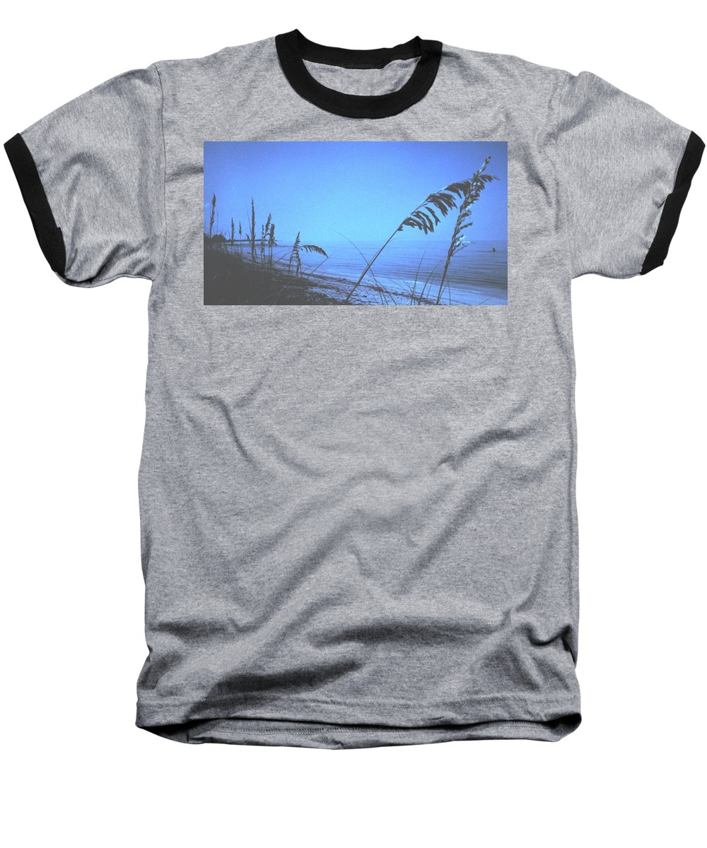 Baseball T-Shirt featuring the photograph Bahama Blue by Ian MacDonald