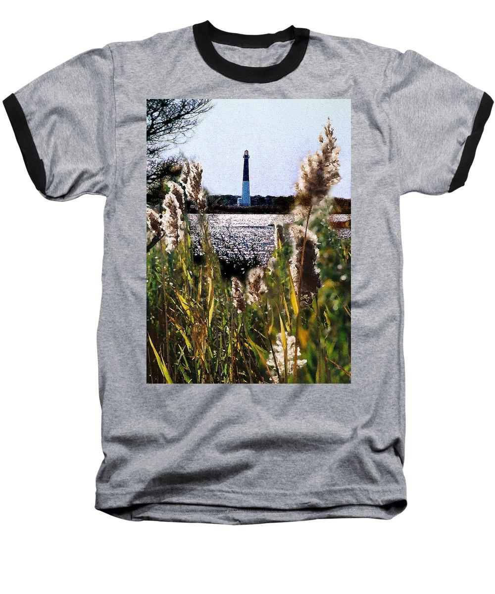 Barnegat Baseball T-Shirt featuring the digital art Barnegat Bay by Steve Karol