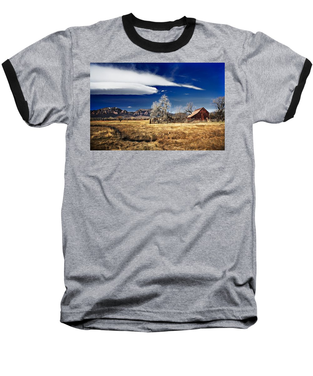 Colorado Baseball T-Shirt featuring the photograph Beautiful Colorado by Marilyn Hunt