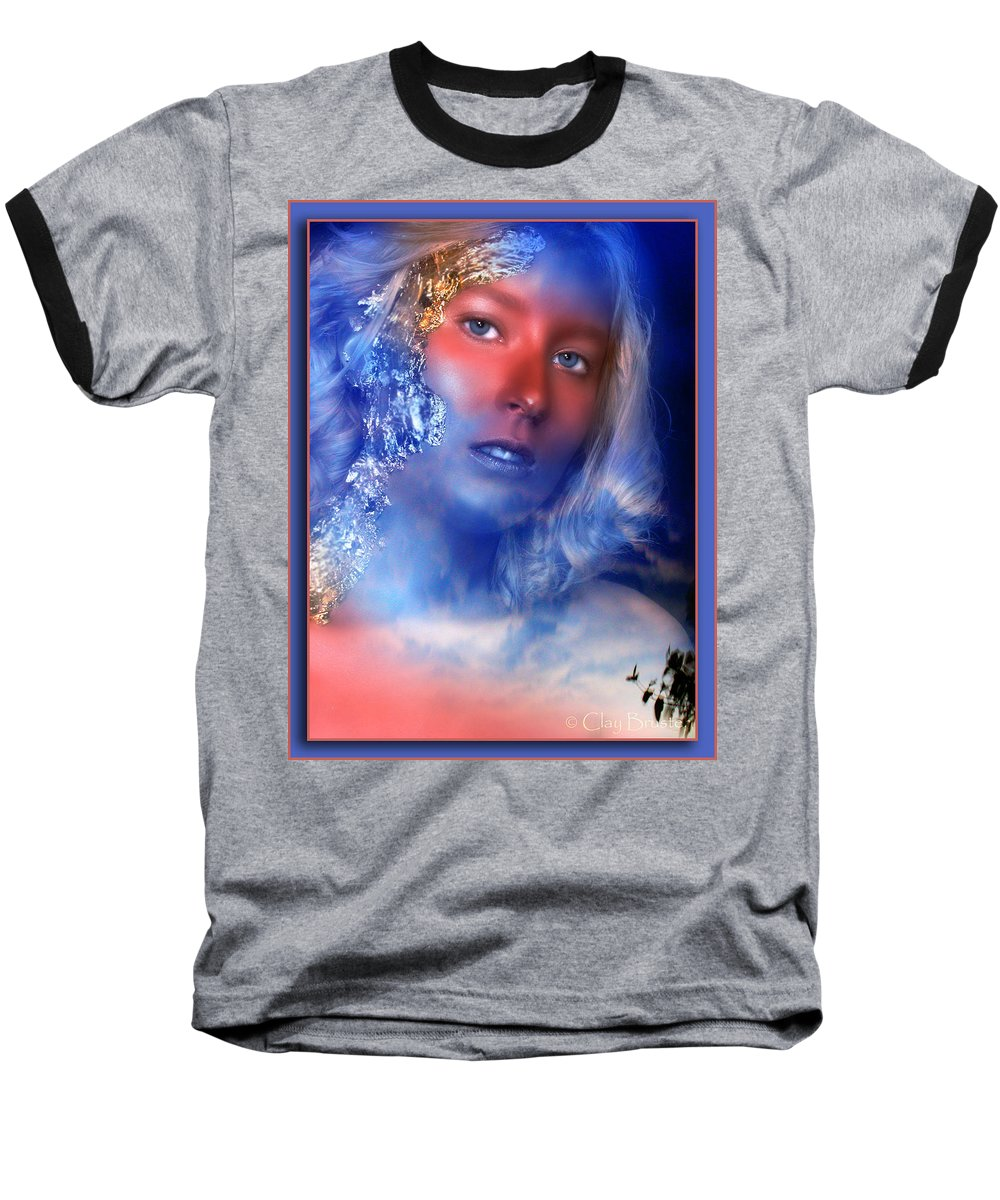 Clay Baseball T-Shirt featuring the photograph Beauty In The Clouds by Clayton Bruster