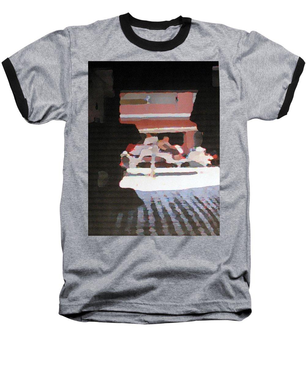 Bermuda Baseball T-Shirt featuring the photograph Bermuda Carriage Impressions by Ian MacDonald