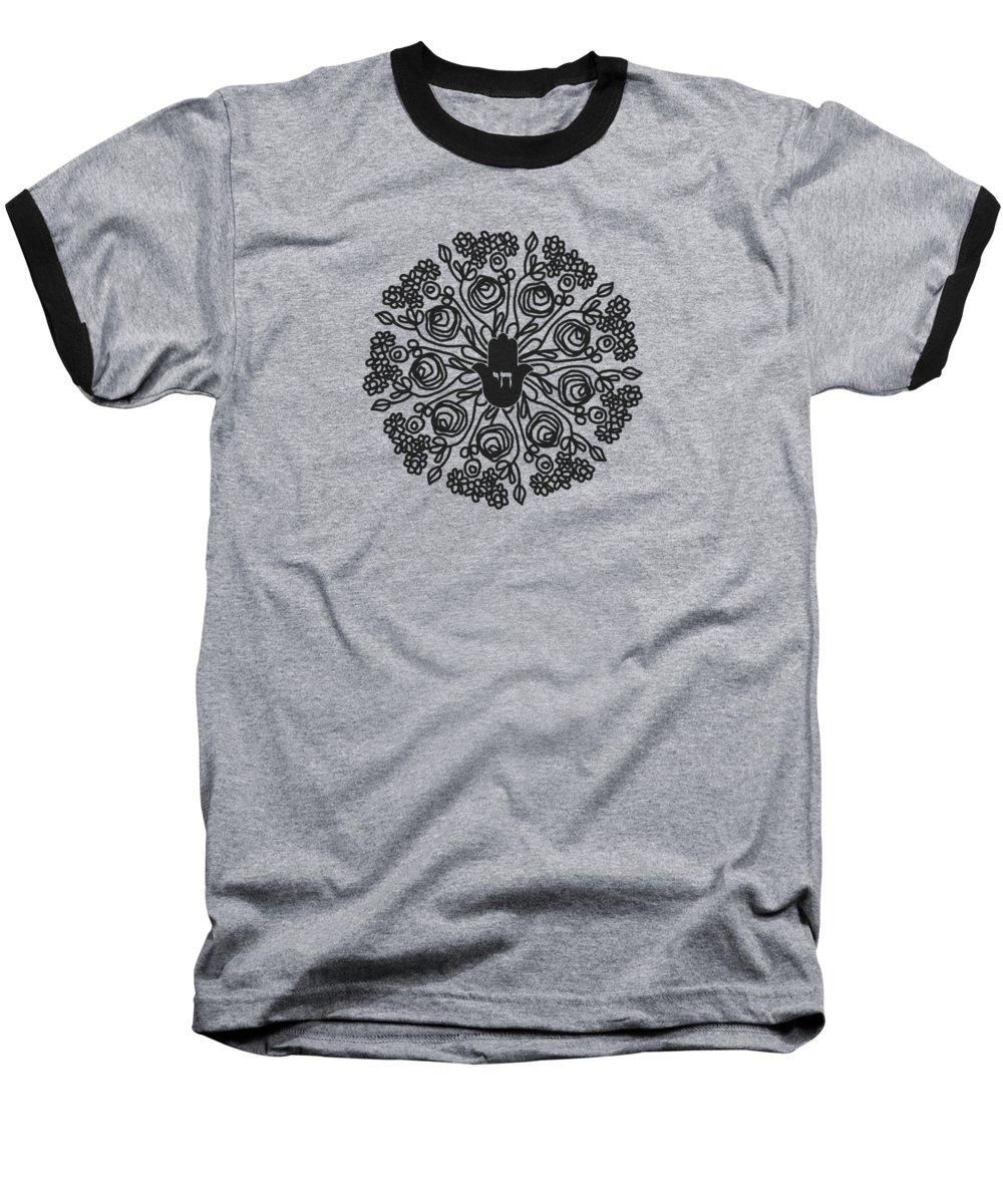 Mandala Baseball T-Shirts