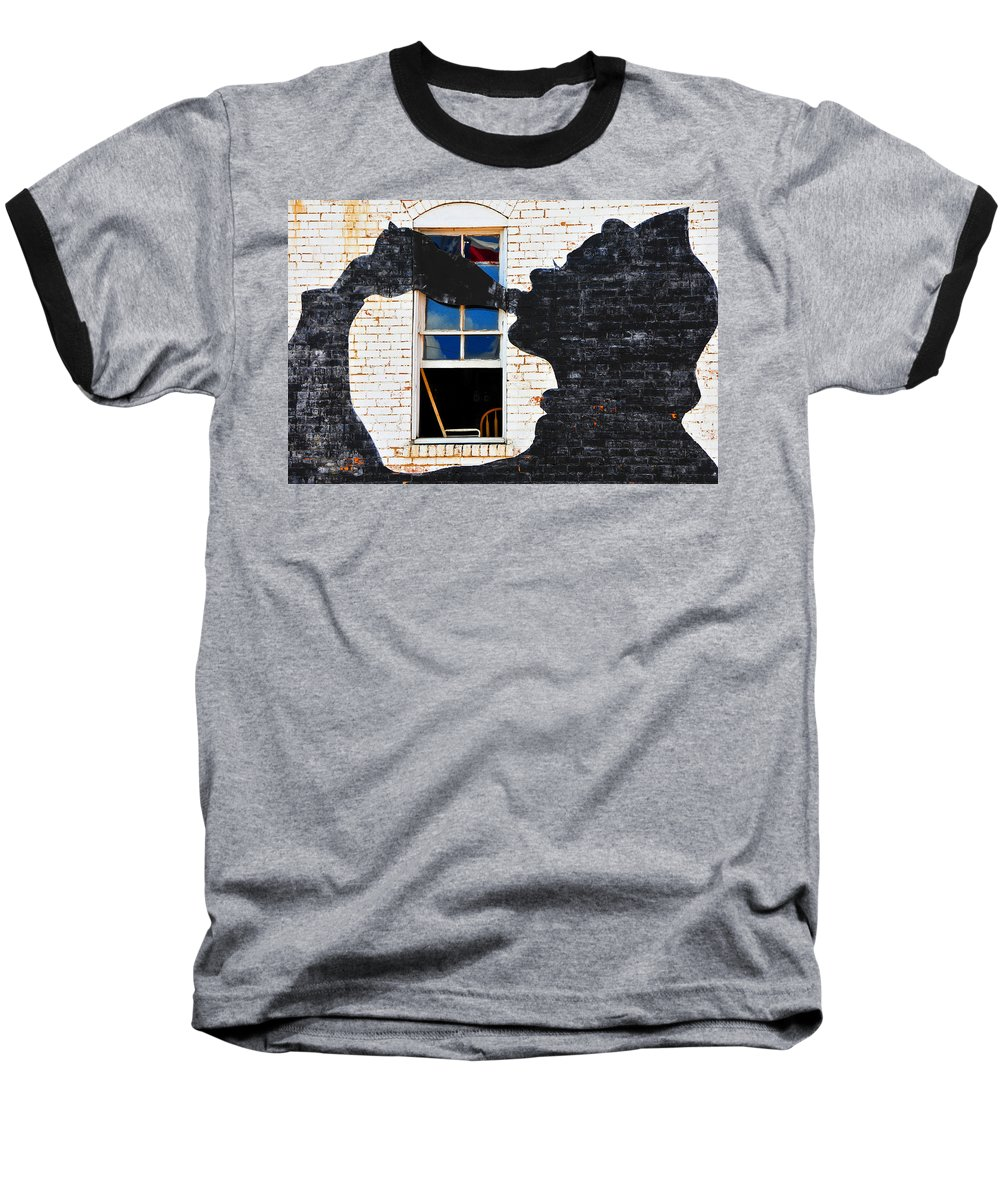 Photography Baseball T-Shirt featuring the photograph Black Betty by Skip Hunt